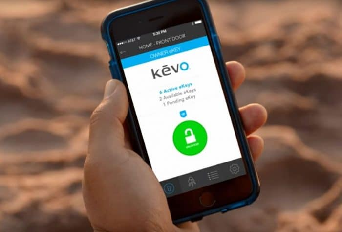 Kevo smart lock 2nd gen app screenshot