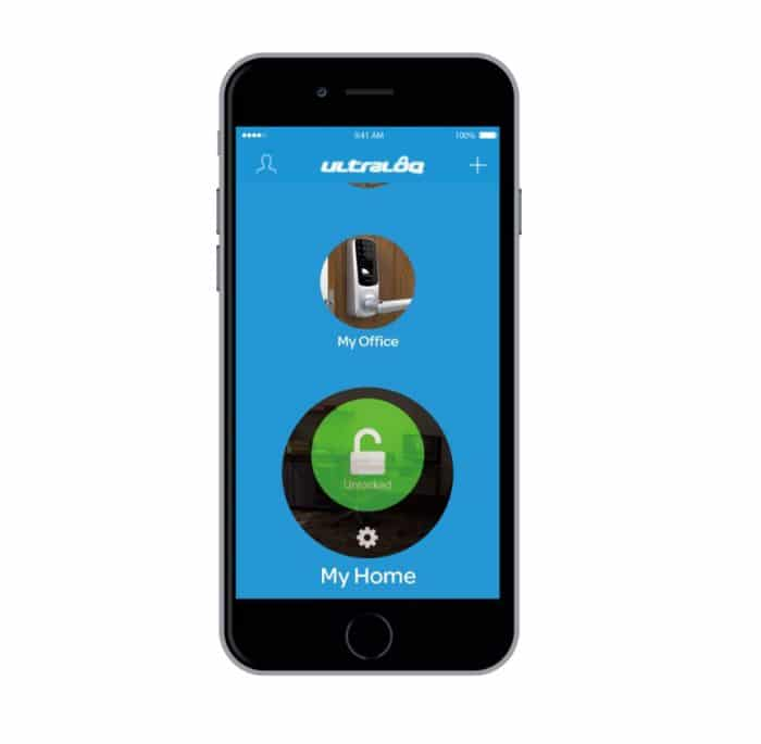Ultraloq UL3 smart lock mobile app