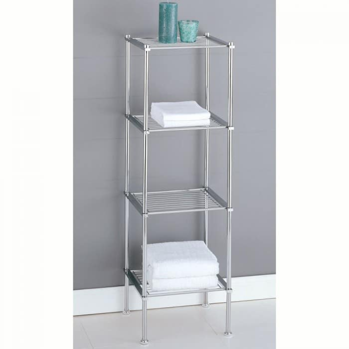 Organize It All Metro 4-Tier Shelf