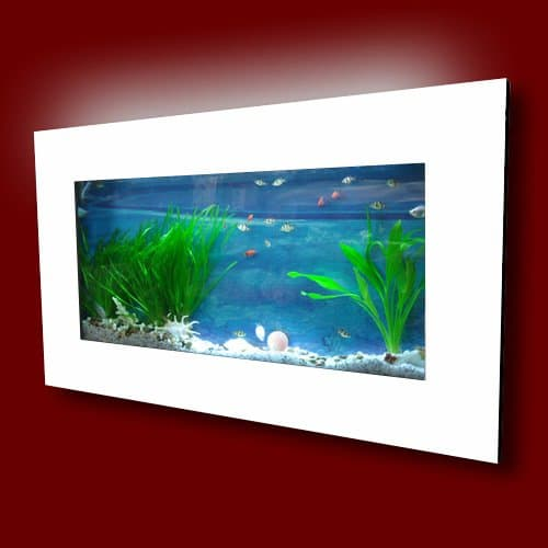 10 ideas for creating a modern living room for Wall mounted fish tanks