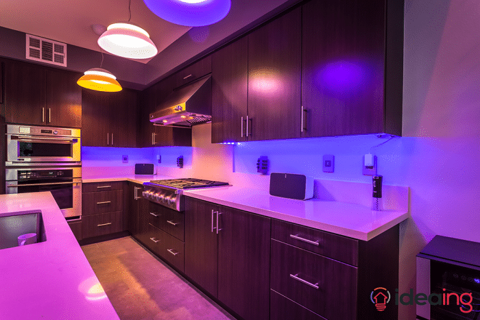 7 ideas to use philips hue lightstrips 1 kitchen cabinets philips lightstrip aloadofball Image collections