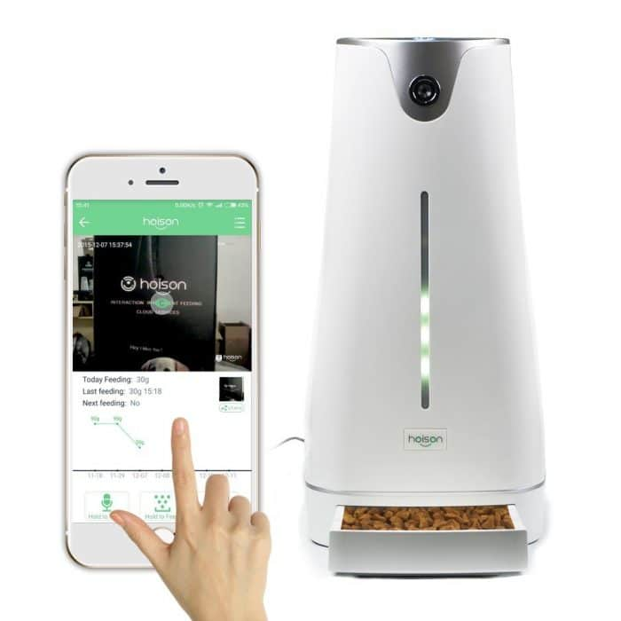 cat feeder wifi pro automatic petwant show