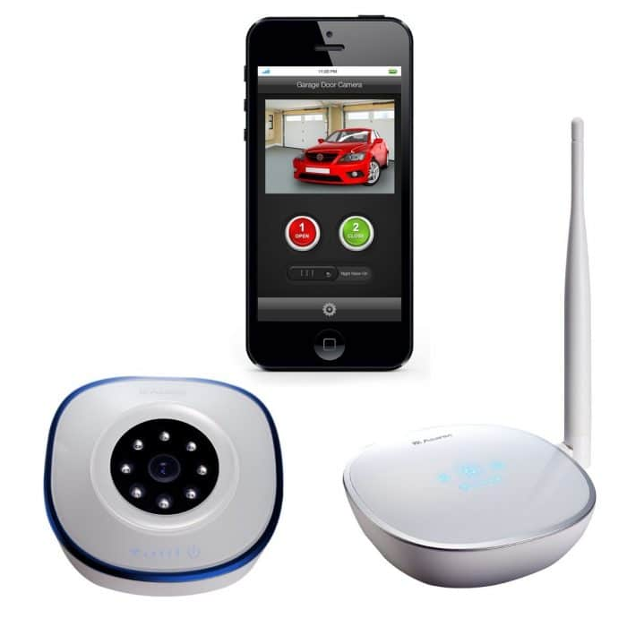 3 asante garage door opener with camera kit best to turn solutions smart