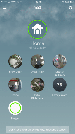 WiFi Cam Phone View Nest