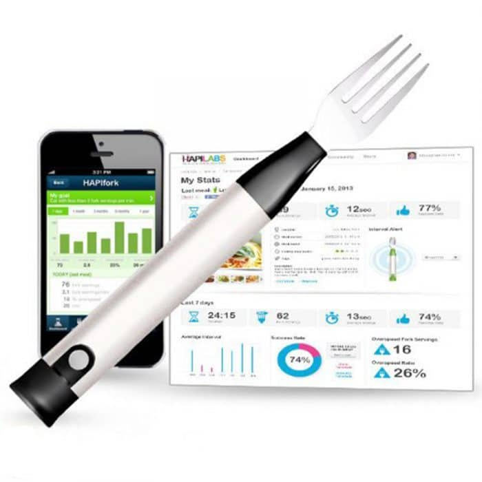 HAPILABS 102 HAPIfork Bluetooth-Enabled Smart Fork