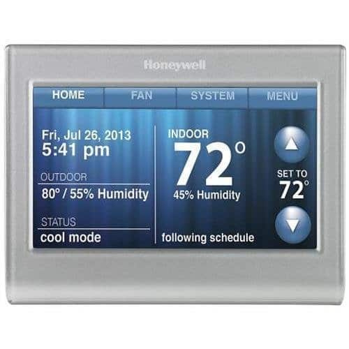 Honeywell RTH9580WF WiFi 9000 Color Touchscreen Thermostat