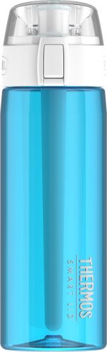 Thermos 24 Ounce Hydration Bottle with Connected Smart Lid