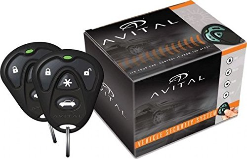 Avital 4103LX Remote Start System with Two 4-Button Remote