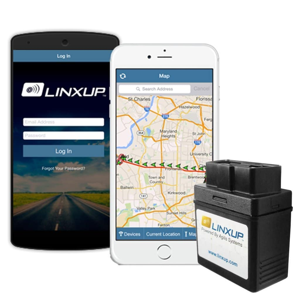 Linxup OBD with 3G GPS Service & GPS System, Vehicle Tracking Device, Car GPS LPVAS1