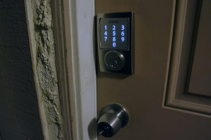 Check in on your locks at night