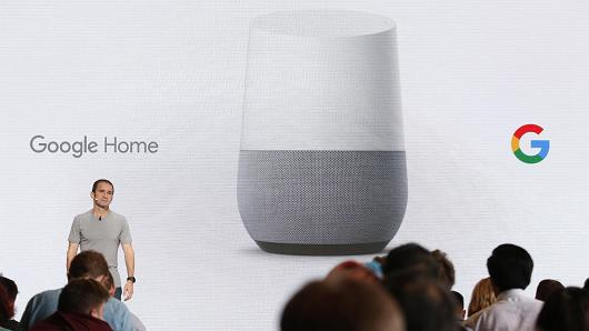 Google Home Smart Speaker Annoucement