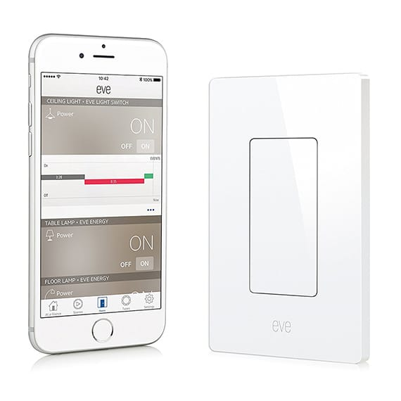 9 Elgato Eve HomeKit Enabled Light Switch