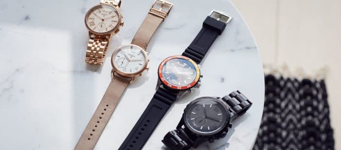 Fossil Hybrid watches