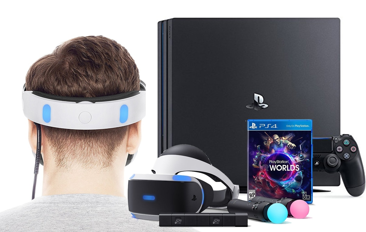 PS4 VR Package Bundle