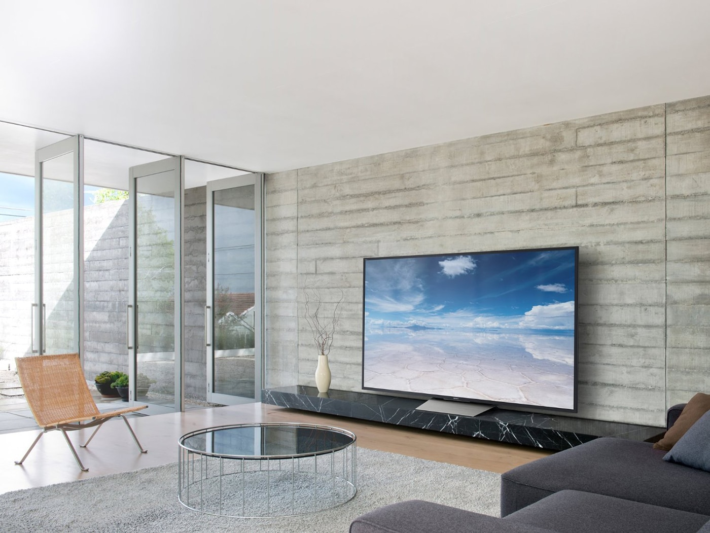 Smart TV in Living Room