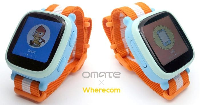 Omate Wherecom K3 Smart Watch for Kids