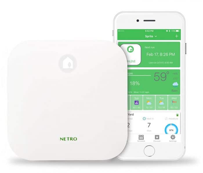 Netro Smart 12-Zone WiFi Sprinkler Controller