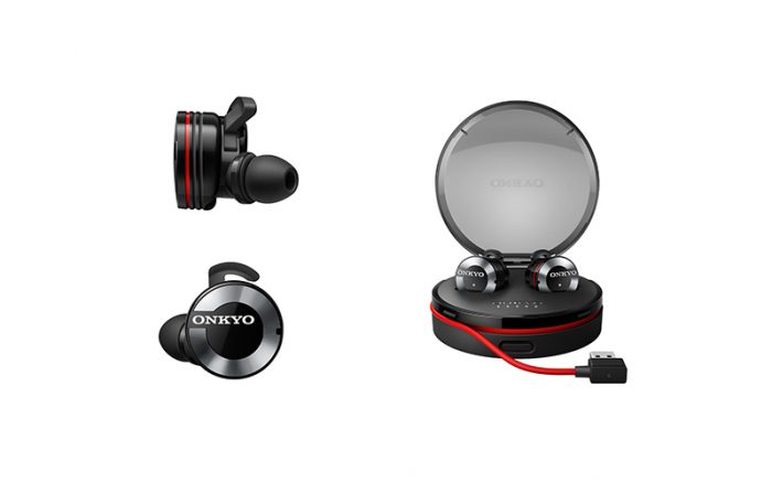 Onkyo w800BT wireless Bluetooth earbuds