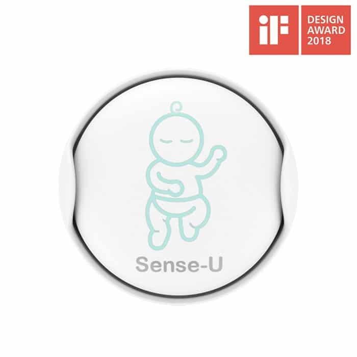 Sense-U Breathing & Rollover Baby Movement Monitor