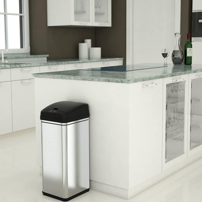 iTouchless Deodorizer Automatic Sensor Touchless Trash Can
