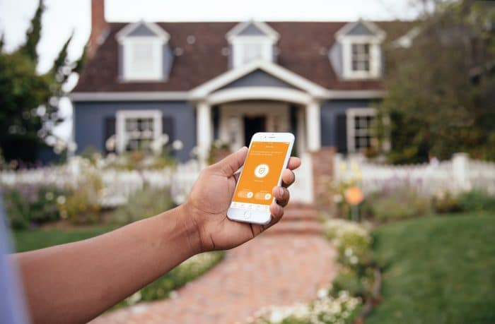 Vivint app controls the house