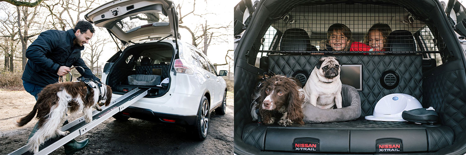 nissan has created the 39 pawfect 39 suv for your dog loving family ideaing. Black Bedroom Furniture Sets. Home Design Ideas