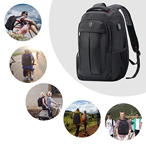 Sosoon USB-Charging Laptop Backpack