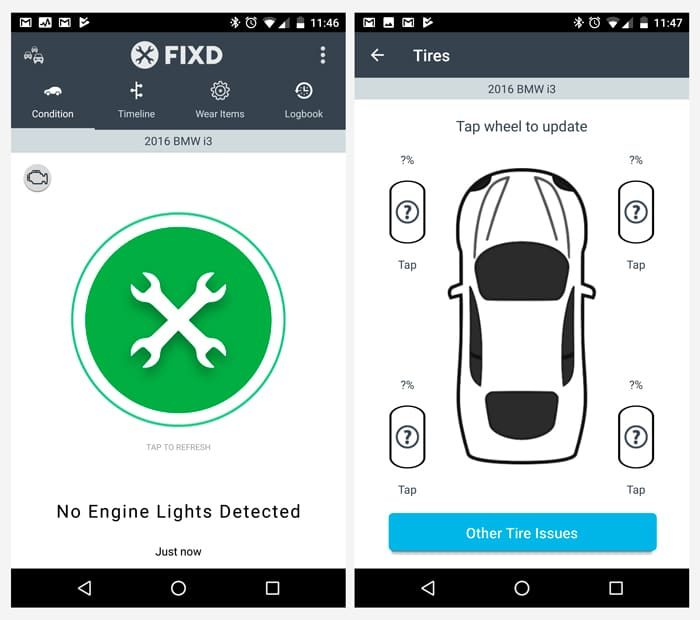 fixd car health monitor app