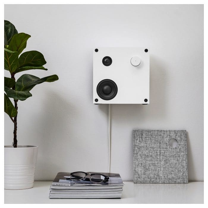 Eneby IKEA bluetooth speaker mounted