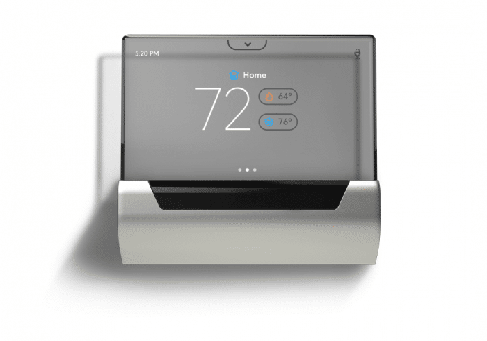GLAS smart thermostat front