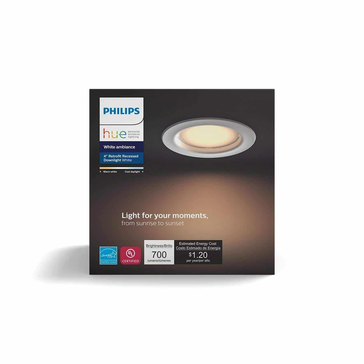 Philips Hue LED Smart Retrofit Recessed Downlight