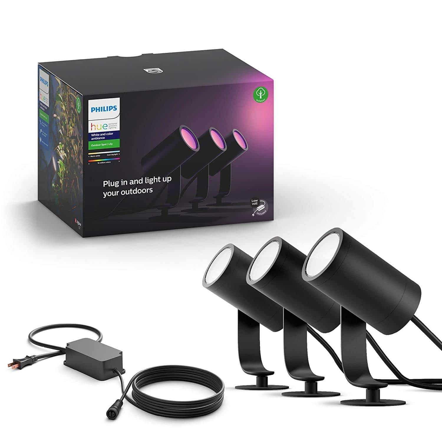 Philips Hue White & Color Ambiance Outdoor Smart Spot light
