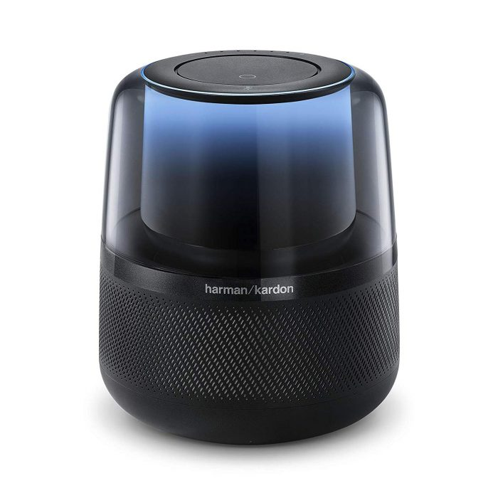 Harman Kardon Allure Voice-Activated Home Speaker with Alexa, Black