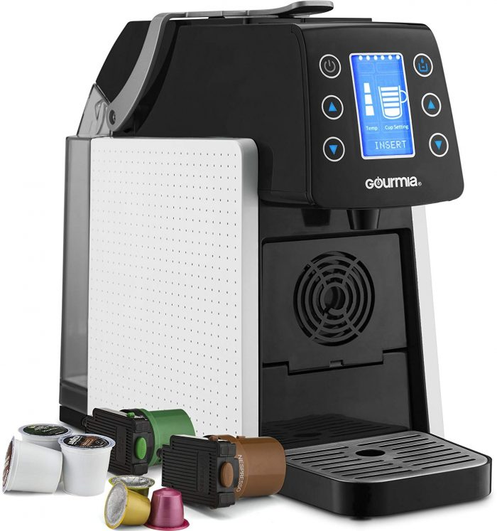 Gourmia GCM5100 One Touch Multi Capsule Coffee & Espresso Machine