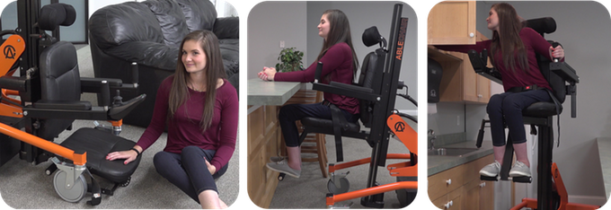 ablechair in use