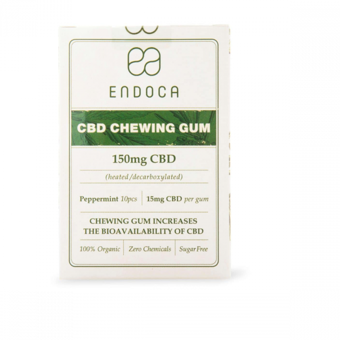 Edibles meet chewing gum with 15mg of CBD per stick