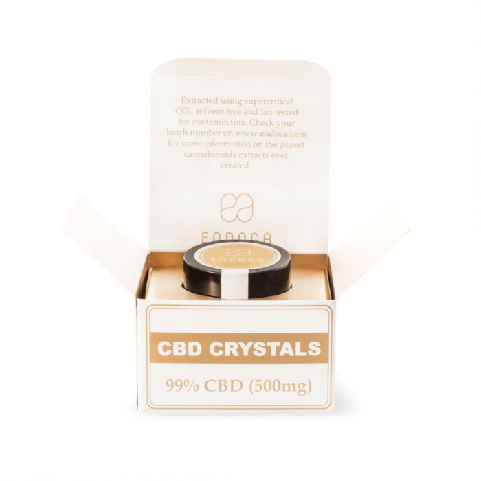 Enjoy the purest form of CBD with CBD Crystals