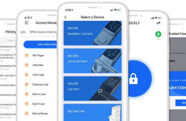 Lockly Secure Pro smart lock